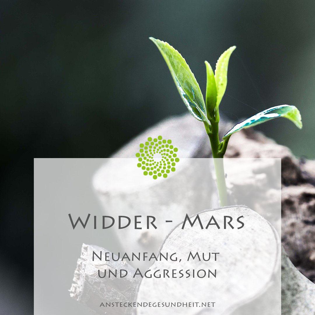Widder Mars Urprinzip